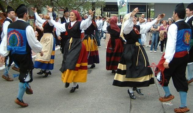 Baile asturiano