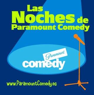 Aplazado el espectaculo de monologos de Paramount Comedy