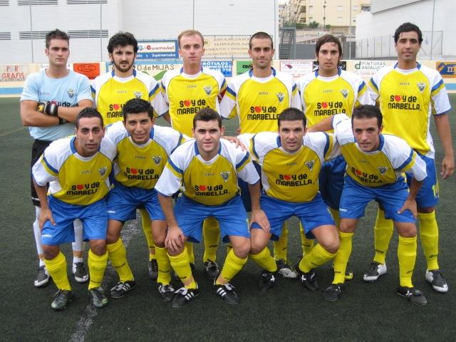Formación del Atlético Marbellí