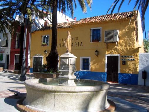 Zona casco histórico de Marbella