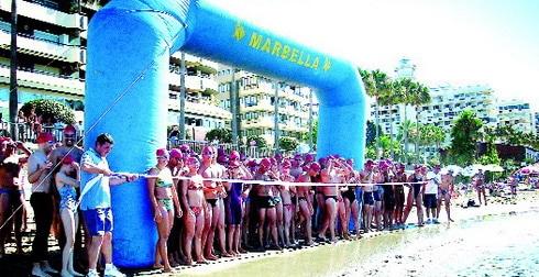 Salida Travesia Puerto Deportivo de Marbella
