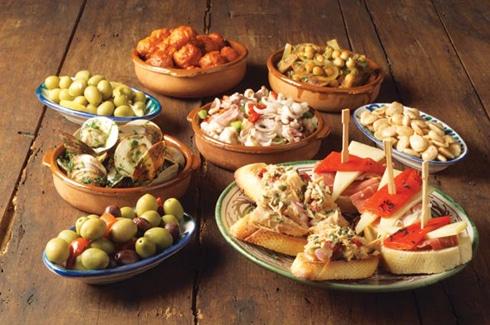Tapas de diversos gustos, preparación, productos,...
