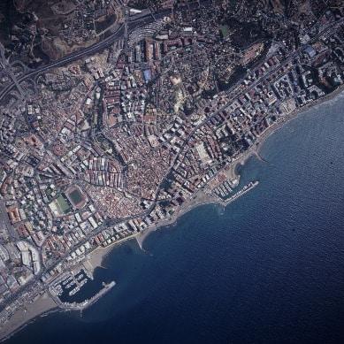 Vista Aérea de Marbella
