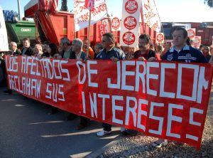 En apoyo a los trabajadores afectados por Jerecom