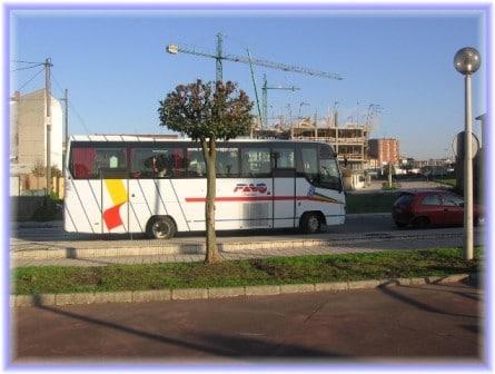 Transporte gratis para los alumnos de Bachillerato de las zonas rurales de Jerez