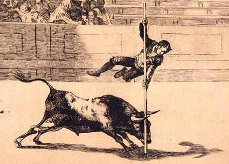 Lamina Taurina de Goya