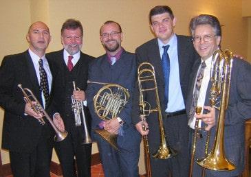 Componentes del Royal Brass Quintet