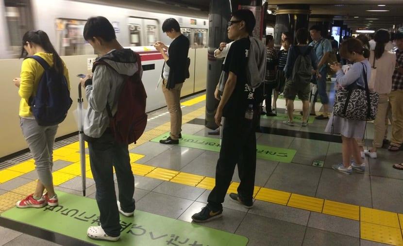 Normas de comportamiento en Japón