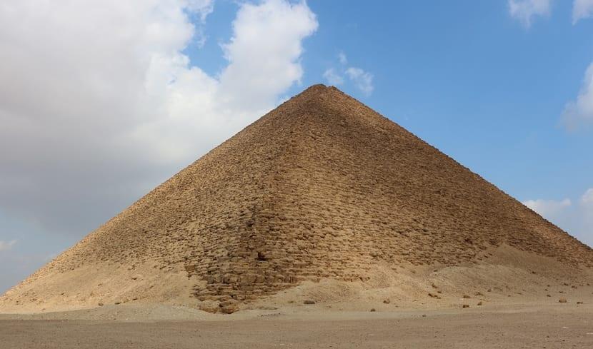 Pirámide Roja en Egipto
