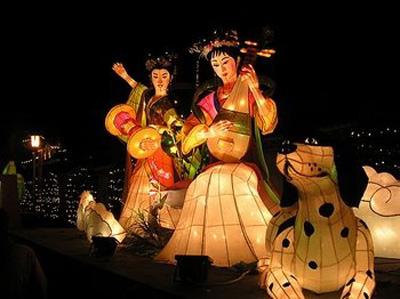 faroles 04 Fiesta de los Faroles, miles de linternas encendidas