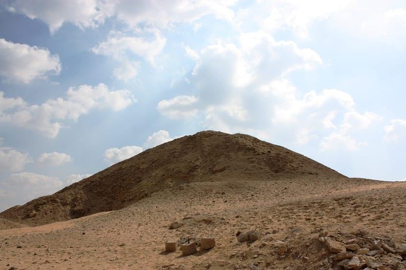 Pirámide Tetis en Egipto