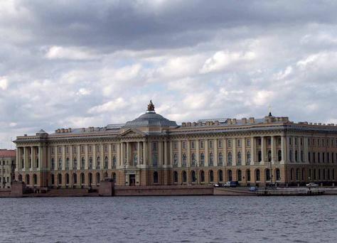 Resultado de imagen de Academia de Bellas Artes de San Petersburgo