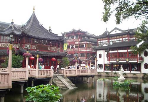 Jard n yuyuan en la parte vieja de shanghai for Jardin yu shanghai