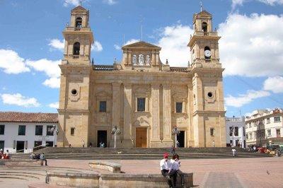 Basílica de la Virgen de Chiquinquirá i Colombia
