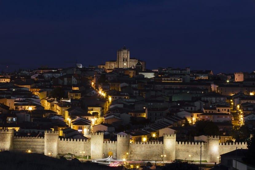 Ciudad amurallada de Ávila