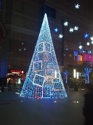 Los árboles de Navidad en China