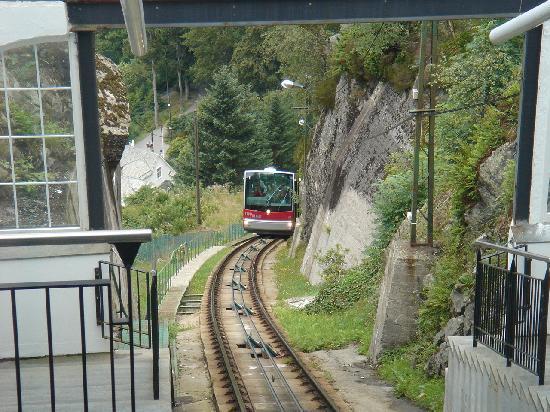 Los paisajes en movimiento del funicular de Fløibanen | Absolut ...