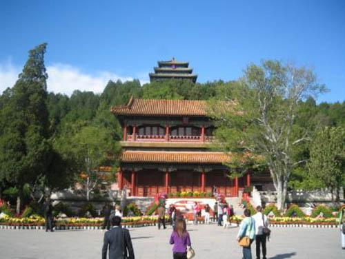 Parque jingshan un jard n imperial en beijing for Jardin imperial chino