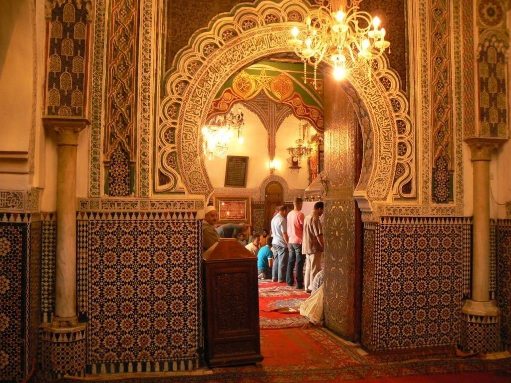 mezquita en Marruecos