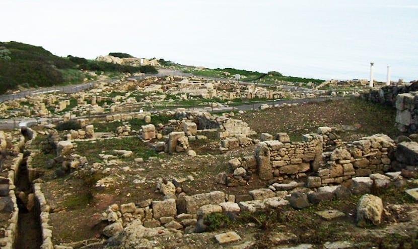 Las ruinas de Thamusida