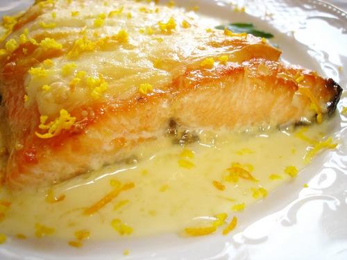 salmon Salmón al estilo Kuku