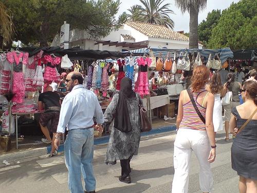 Los mercadillos de Marbella, tambien en festivo
