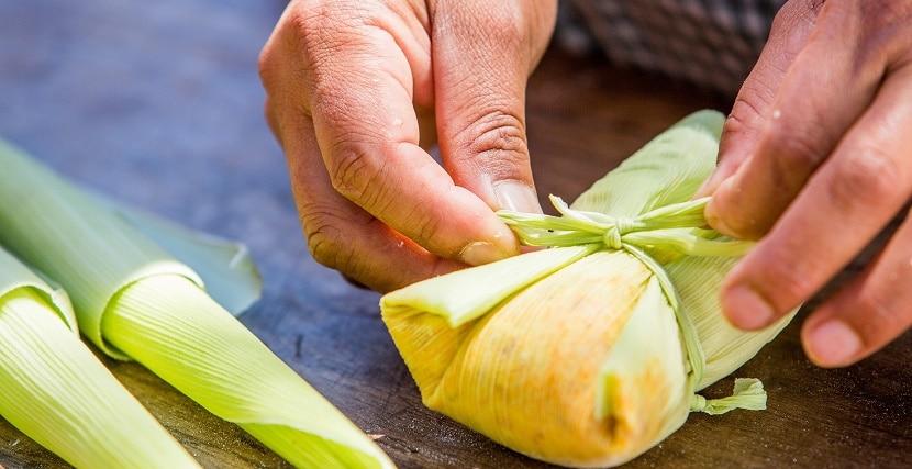 gastronomia region andina tamal