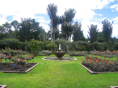 Parques y jardines en bogot for Jardin botanico horario
