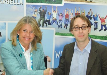 La Alcaldesa de Marbella y el Presidente de Colega