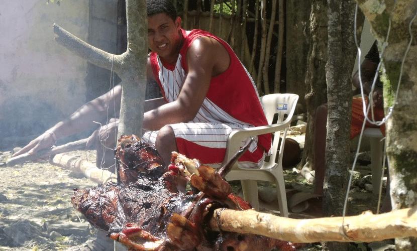 Cerdo Asado de Cuba