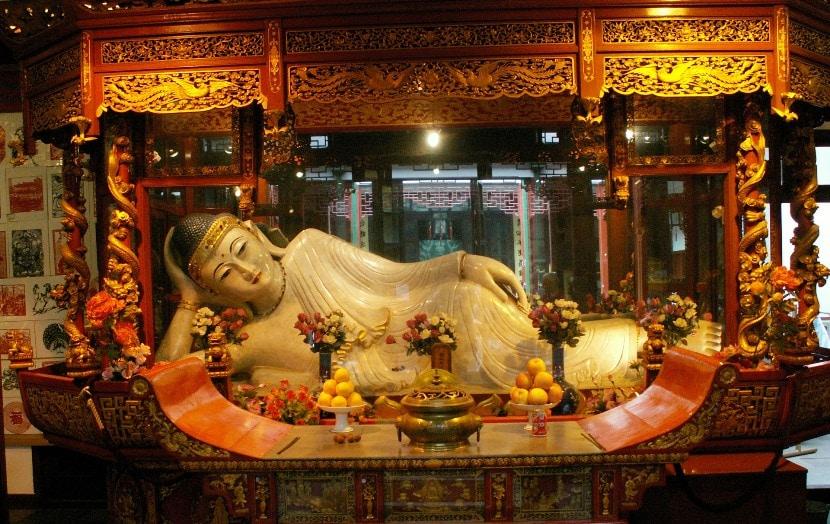 Escultura china en museo