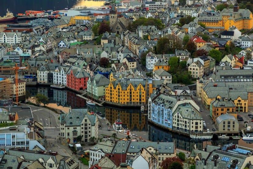 Ciudad en Suecia