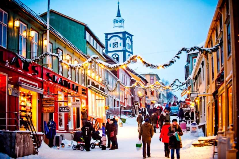 Noruega en Navidad