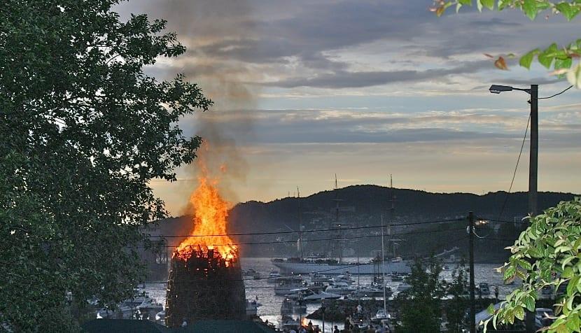 San Juan en Noruega