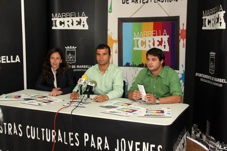 """Presentación muestra artística del Programa """"Marbella Crea"""""""