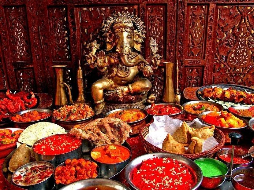 gastronomia de India