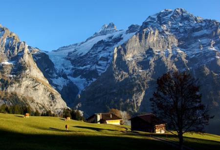 Conocer suiza en navidad suiza por descubrir - Casas en los alpes suizos ...