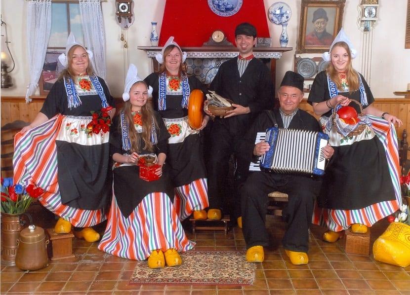 Los trajes tradicionales holandeses