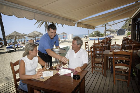Beach Club del Hotel Fuerte Miramar