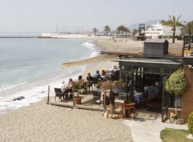 Chiringuito de la Playa de la Fontanilla en Marbella