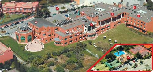 Vista Aérea de la Escuela Les Roches