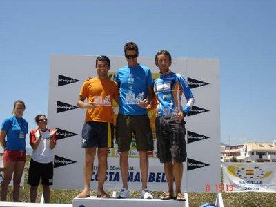 XII triatlon Ciudad de Marbella. Podium de honor