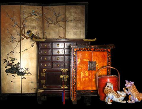 muebles chinos Mercado de muebles antiguos Zhao Jia Chao Wei