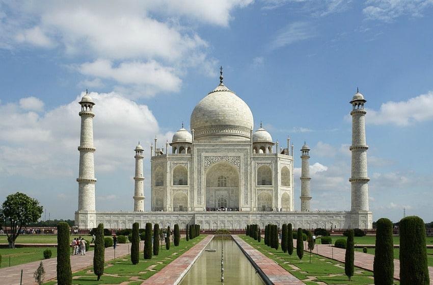 Taj Mahal en India