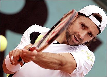 Nicholas Kiefer de la Selección de Alemania de la Copa Davis