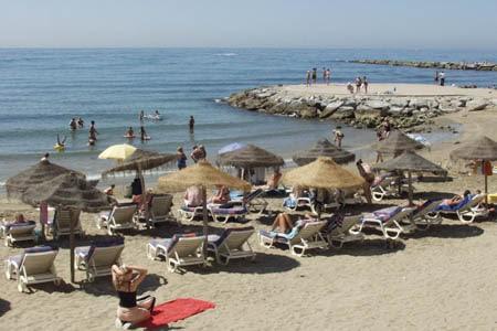 Marbella tiene 27 km. de litoral
