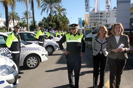 Policía Local de Marbella y Alcaldesa (2)
