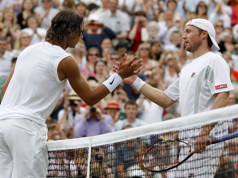 Rafael Nadal y Rainer Schuettler