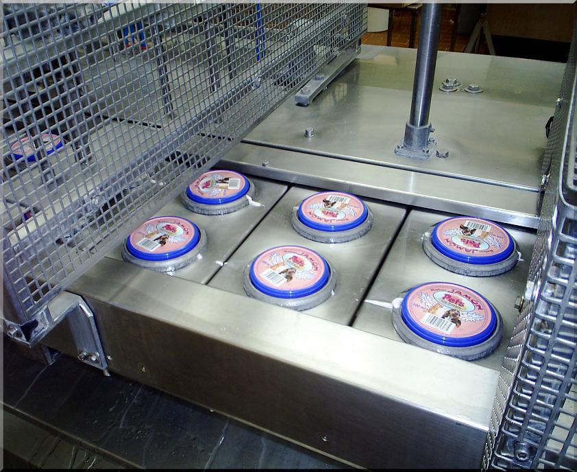 Tarrinas del helado para mascotas