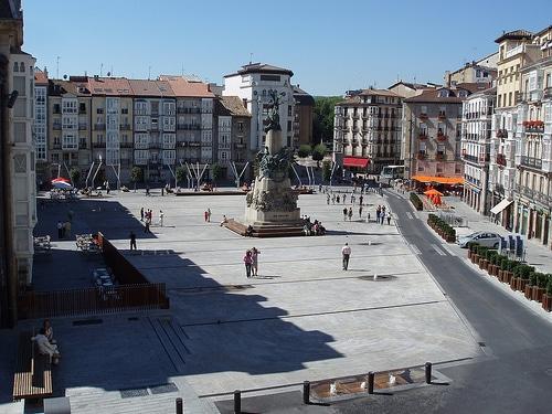 Plaza Virgen Blanca de Vitoria